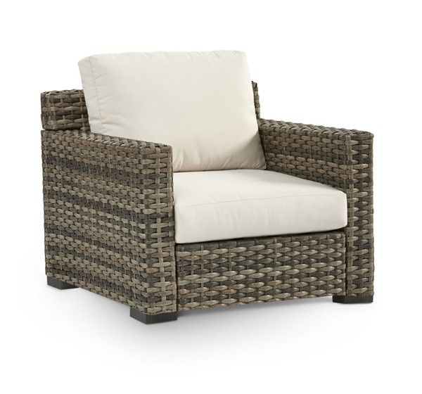 South Sea New Java Taupe Brown Patio Cushion Chair SSEA-73401-D33011-2