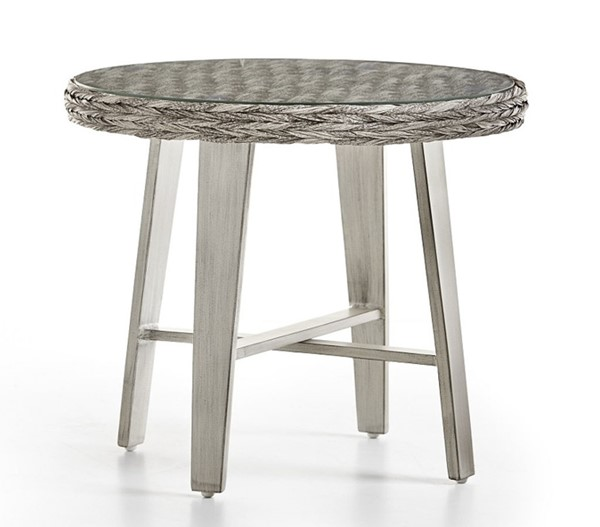 South Sea Grand Isle Gray Side Table SSEA-77443-SGR