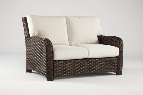 South Sea Saint Tropez Canvas Loveseat SSEA-79302-TOB-D6311