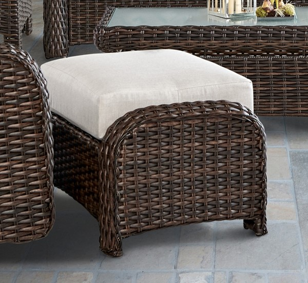 South Sea Saint Tropez Canvas Ottoman SSEA-79306-TOB-D6311
