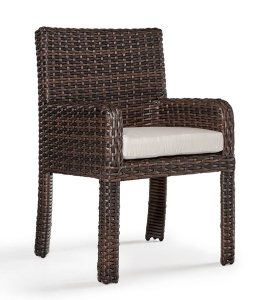 South Sea Saint Tropez Canvas Dining Arm Chair SSEA-79321-TOB-D6311