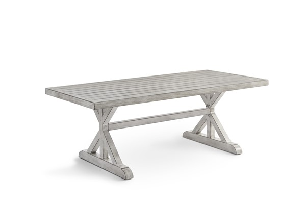 South Sea Dover Chalk Gray Dining Table SSEA-73719