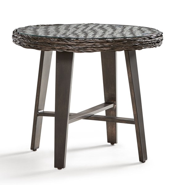 South Sea Grand Isle Brown Side Table SSEA-77443-DKC