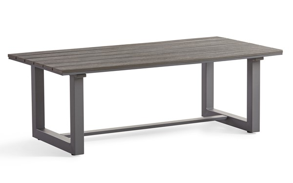 South Sea Kingston Gunmetal Gray 3pc Coffee Table Set SSEA-73242-OCT-S1
