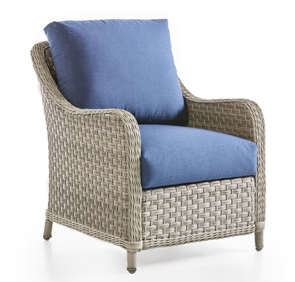 South Sea Mayfair Pebble Gray Blue Chair SSEA-77801-D33028-2