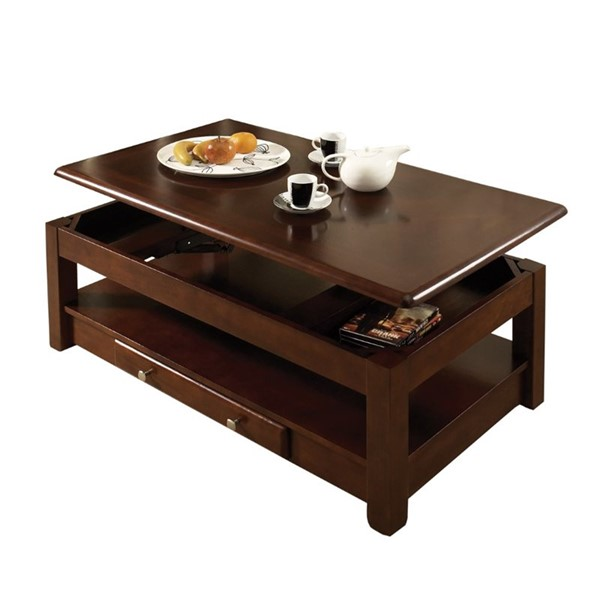 Steve Silver Nelson Cherry Lift Top Cocktail Table SSF-NL300CLC