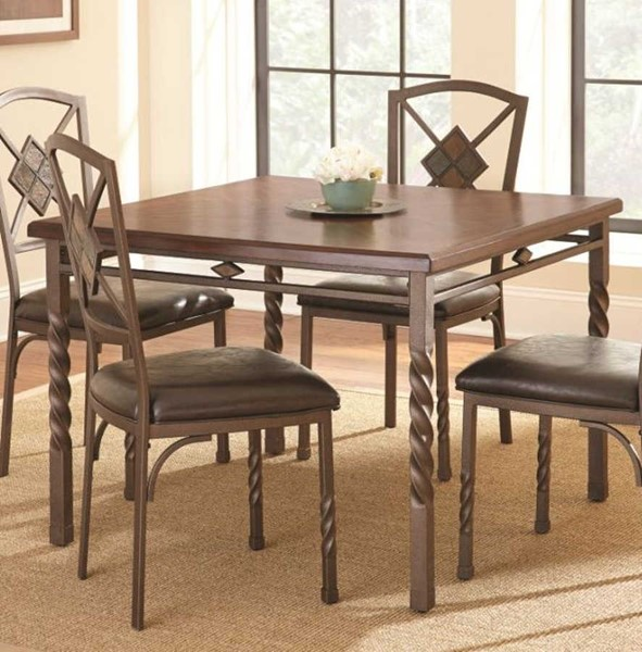 Steve Silver Annabella Square Dining Table SSF-AB420T