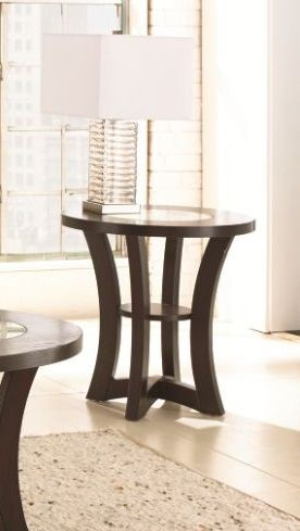 Steve Silver Alice Espresso End Table SSF-AE200E