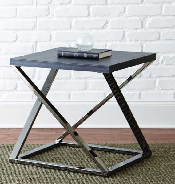 Steve Silver Aegean Black End Table SSF-AG150E