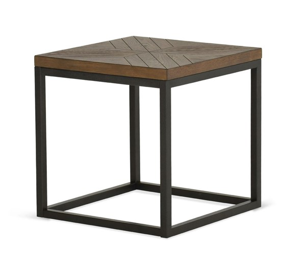 Steve Silver Aleka Dark Oak Veneer End Table SSF-AK100E