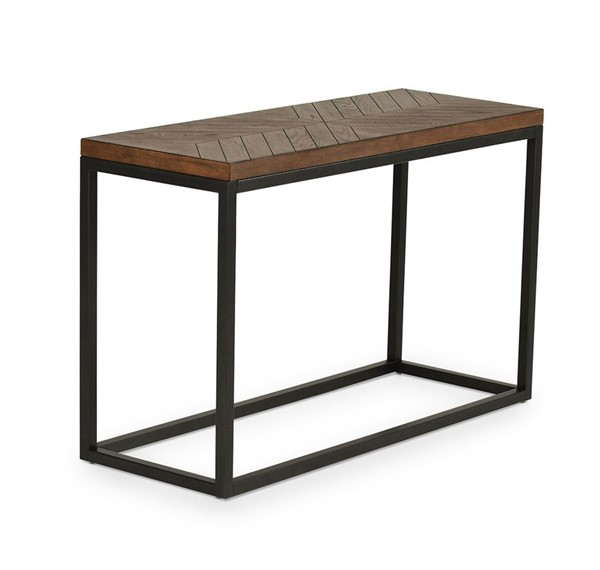 Steve Silver Aleka Dark Oak Veneer Sofa Table SSF-AK100S