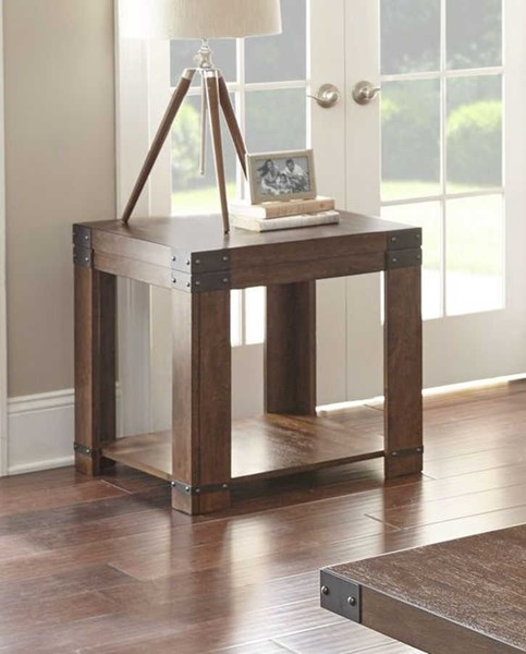 Steve Silver Arusha Cherry End Table SSF-AR200E