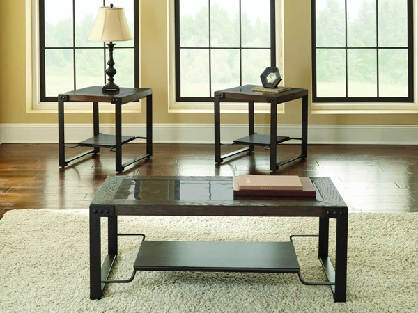 Steve Silver Oasis 3pc Coffee Table Set SSF-AS300-OCT-S1