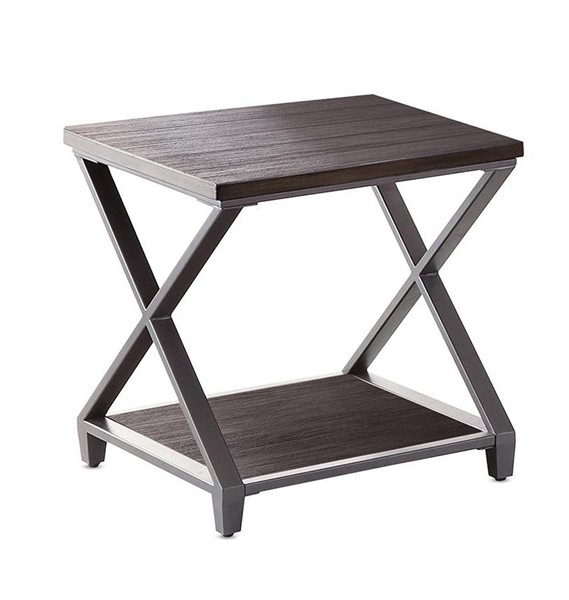 Steve Silver Alex Solid Hardwood End Table SSF-AX200E