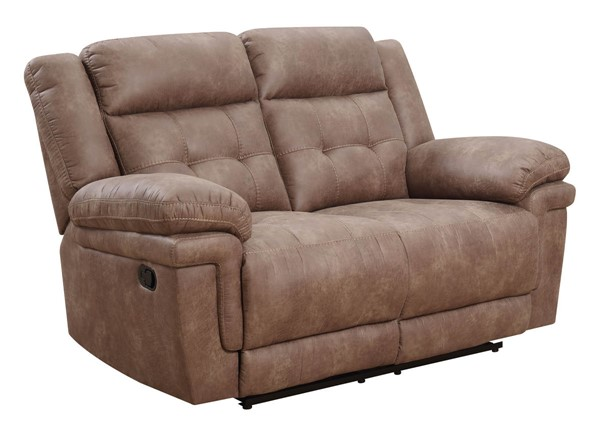 Steve Silver Anastasia Cocoa Recliner Loveseat SSF-AT850LC