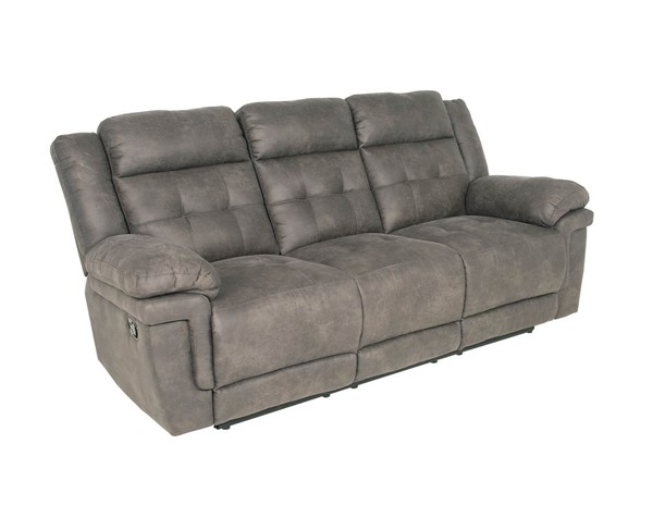 Steve Silver Anastasia Grey Recliner Sofa SSF-AT850S