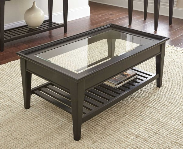 Steve Silver Bridget Ebony Cocktail Table SSF-BG300C