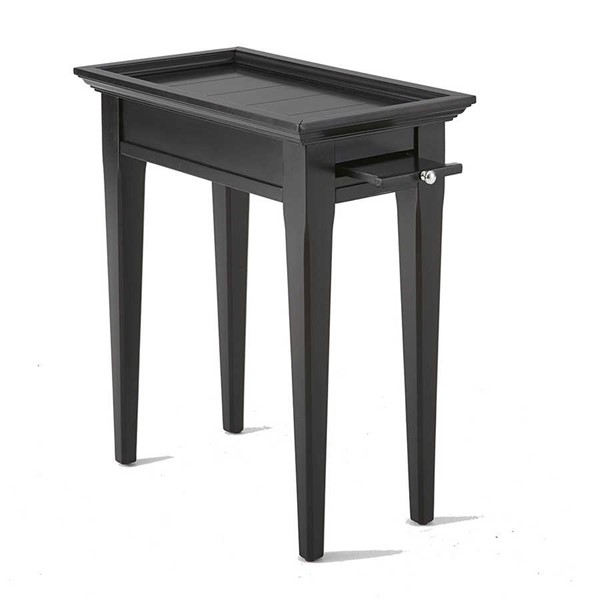 Steve Silver Bridget Ebony Chairside End Table SSF-BG300EC