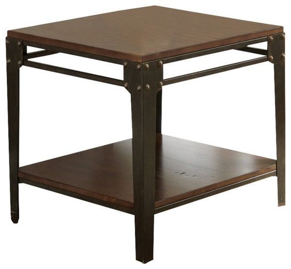 Steve Silver Barrett Square End Table SSF-BR200E