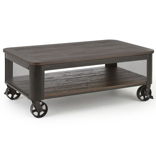 Steve Silver Barrow Lift Top Cocktail Table with Casters SSF-BW200CAS