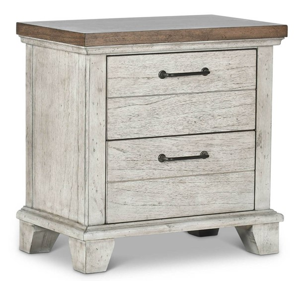 Steve Silver Bear Creek White Oak Night Stand SSF-BC900NS