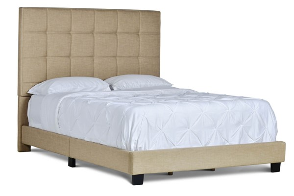 Steve Silver Brooklyn Sand Upholstered King Bed SSF-RE9003SS-142SD