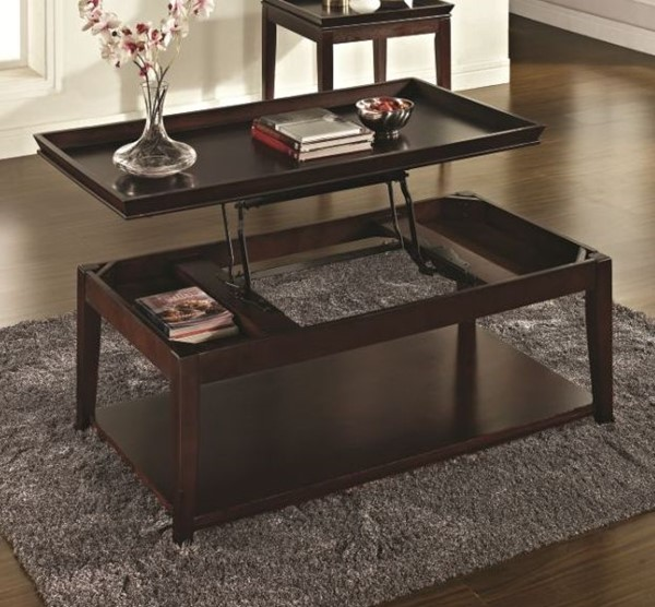 Steve Silver Clemson Lift Top Cocktail Table with Casters SSF-CL900C