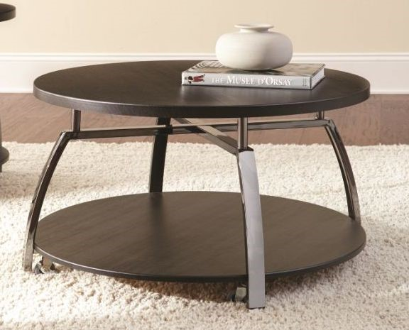 Steve Silver Coham Black Cocktail Table SSF-CM150C