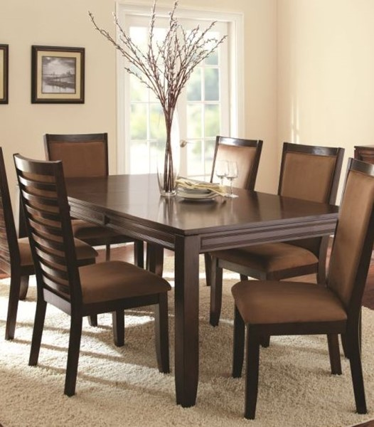 Steve Silver Cornell Merlot Cherry Brown Dining Table SSF-CN500T