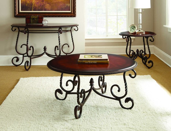 Steve Silver Crowley 3pc Coffee Table Set SSF-CR150-OCT-S1