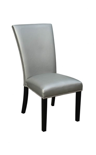 2 Steve Silver Camila PU Dining Chairs SSF-CM420SSN