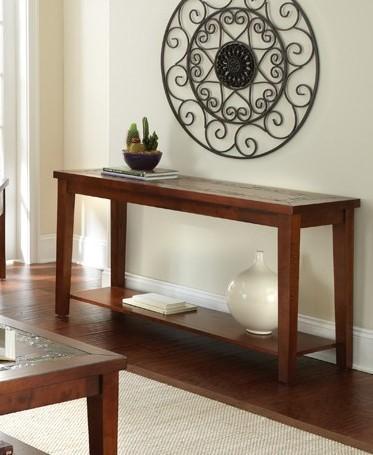Steve silver davenport slate sofa table the classy home steve silver davenport slate sofa table watchthetrailerfo