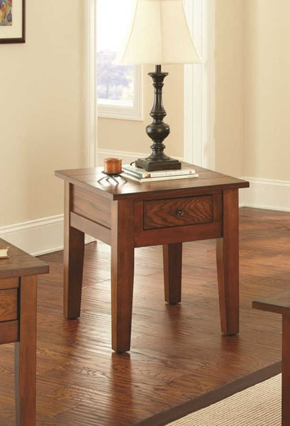 Steve Silver Desoto Oak End Table SSF-DE200E