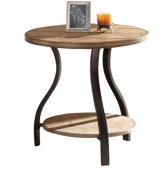 Steve Silver Denise Oak End Table SSF-DN200E