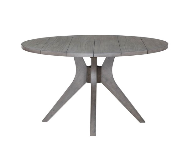 Steve Silver Elora Grey Round Dining Table SSF-EY5454TG