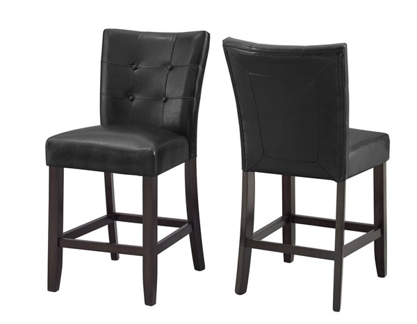 2 Steve Silver Francis Dark Cherry Counter Height Chairs SSF-FC650CC