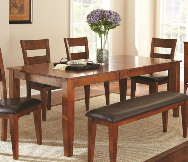 Steve Silver Mango Brown Cherry Dining Table SSF-GO400TK