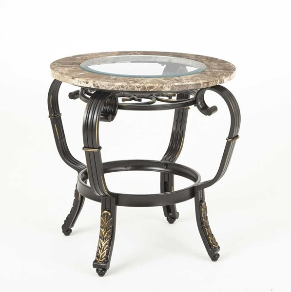 Steve Silver Gallinari Brown End Table SSF-GN300E