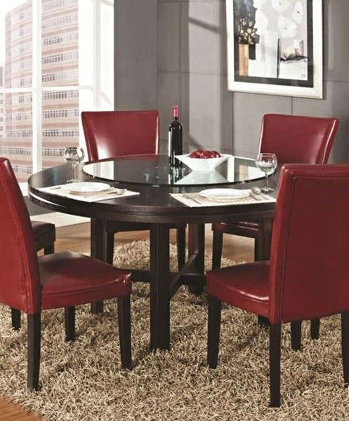 Steve Silver Hartford Espresso Dining Table SSF-HF6262T