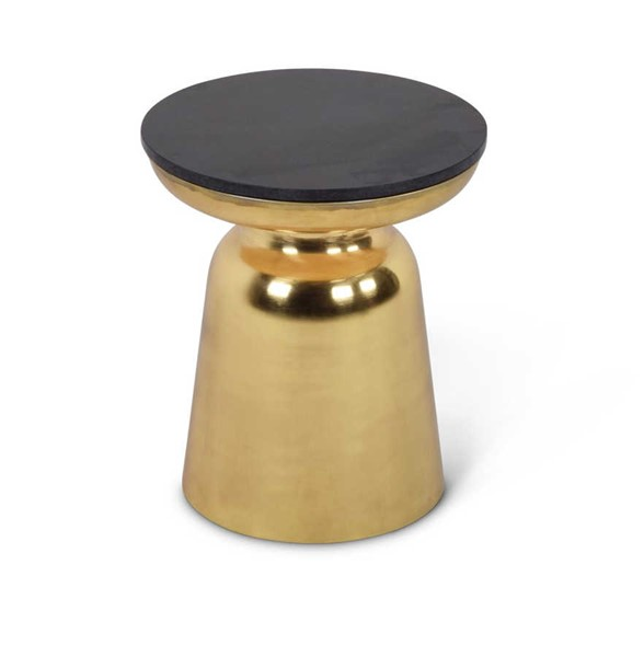 Steve Silver Jovana Gold Round End Table SSF-JV170E