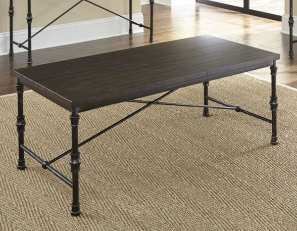 Steve Silver Lillian Oak Cocktail Table SSF-LL350C
