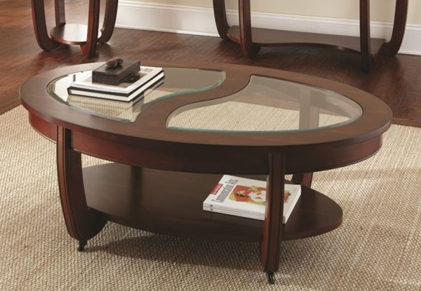 Steve Silver London Cocktail Table with Casters SSF-LN250CA