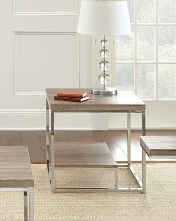 Steve Silver Lucia Brown End Table SSF-LU250E