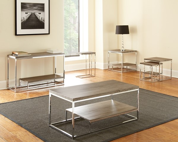 Steve Silver Lucia Chairside End Tables SSF-LU350-ET-VAR2
