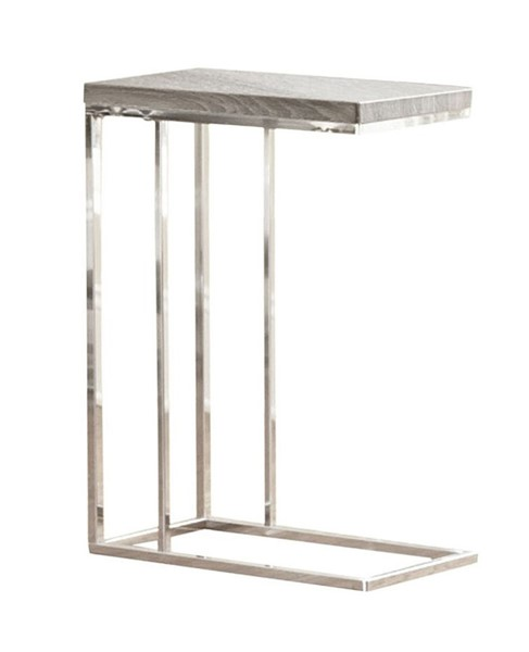 Steve Silver Lucia Gray Brown Chairside End Table SSF-LU350CE