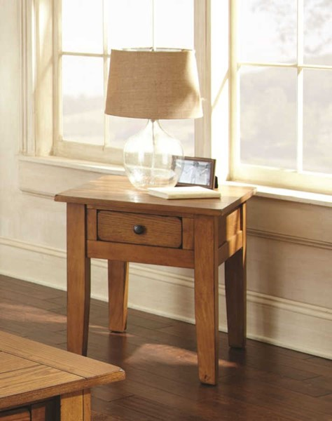 Steve Silver Liberty Oak End Table SSF-LY600E