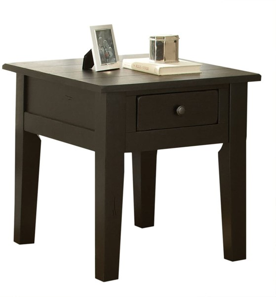 Steve Silver Liberty Antique Black End Table SSF-LY600EB