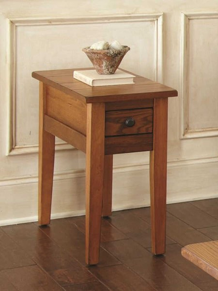 Steve Silver Liberty Oak Chairside End Table SSF-LY600EC
