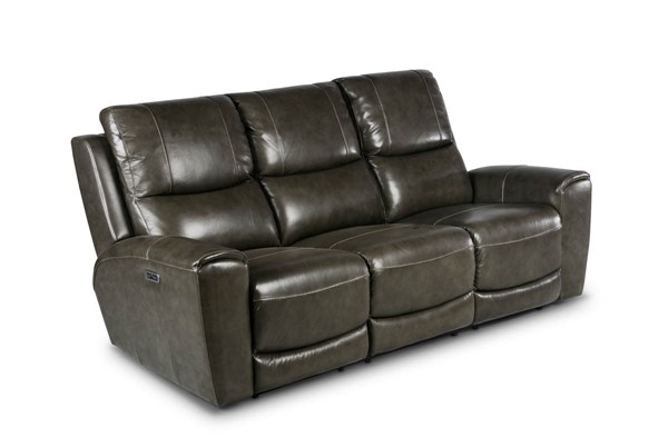 Steve Silver Laurel Grey Power Reclining Sofa SSF-LL950SG