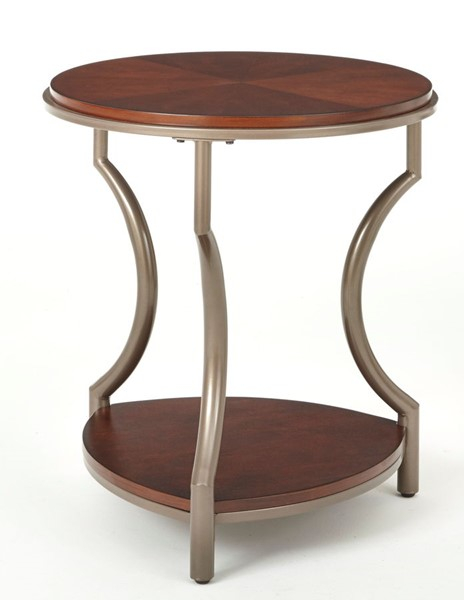 Steve Silver Maryland Round End Table SSF-ML200E